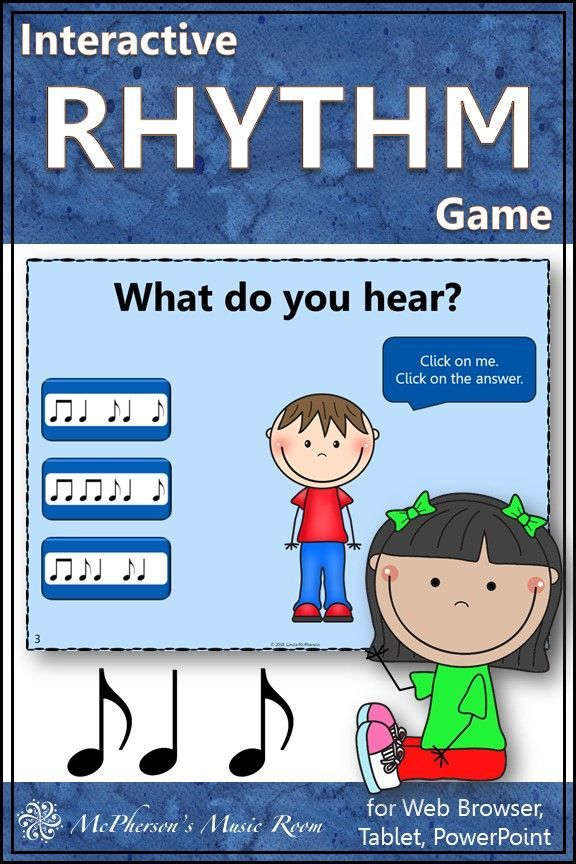 Interactive Rhythm Game Syncopation-Syncopa for Elementary Music