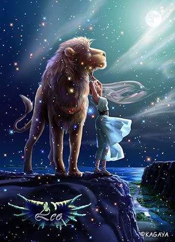 Leo – The Lion, standing in the light of the full moon, gives all his love to Serene, the goddess of the moon. With Legurus, the star of courage, on his chest, how can he imagine the tragedy he is fated to?