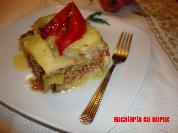 Musaca cu legume asortate - Bucataria cu noroc