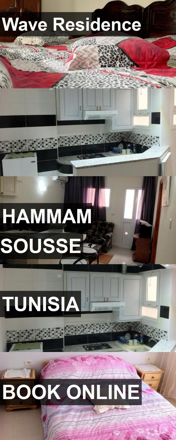 Hotel Wave Residence in Hammam Sousse, Tunisia. For more information, photos, reviews and best prices please follow the link. #Tunisia #HammamSousse #WaveResidence #hotel #travel #vacation