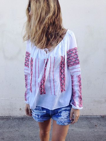 the everly blouse