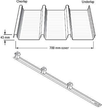 Steel Roofing Supply Centre » Lysaght Klip-Lok 700 Hi-Strength®