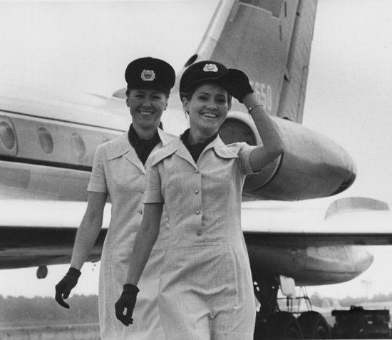 Vladimir Knyazev. Aeroflot stewardesses, 1970  [::SemAp FB || SemAp G+::]