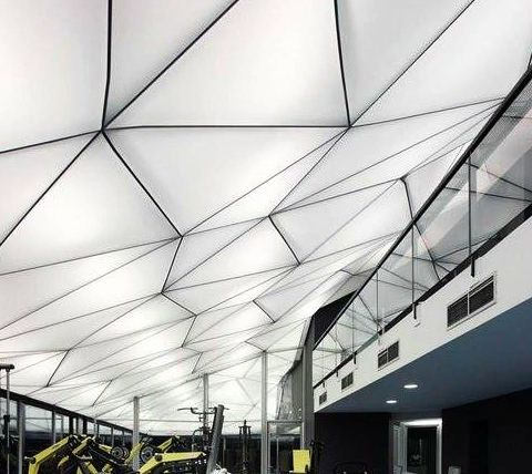 Translucent 3D effect Stretch Ceiling