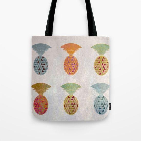Ananas Jewels Tote Bag