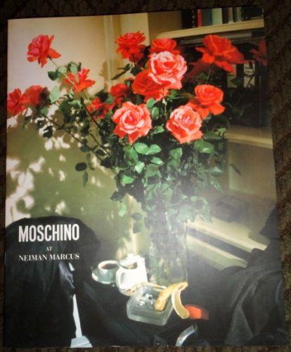 Vintage Moschino at Neiman-Marcus catalog 1995