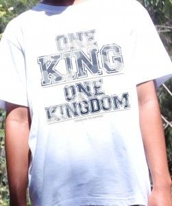 one king Camo-wht
