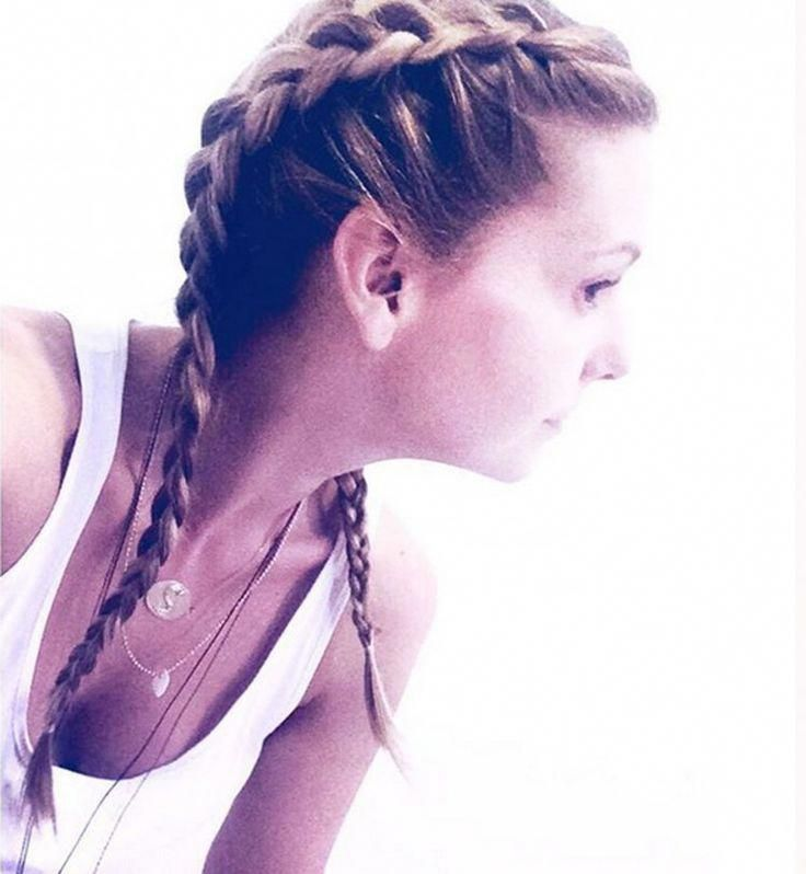 Les boxer braids vues de profil – #boxer #boxerbra…