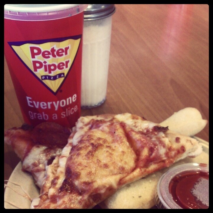Peter Piper Pizza. Best. Pizza. EVER!!