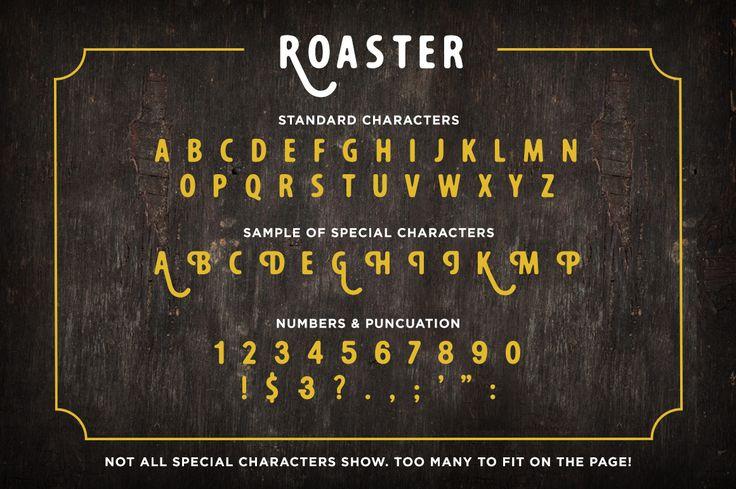 Roaster by RetroSupply Co. on Creative Market