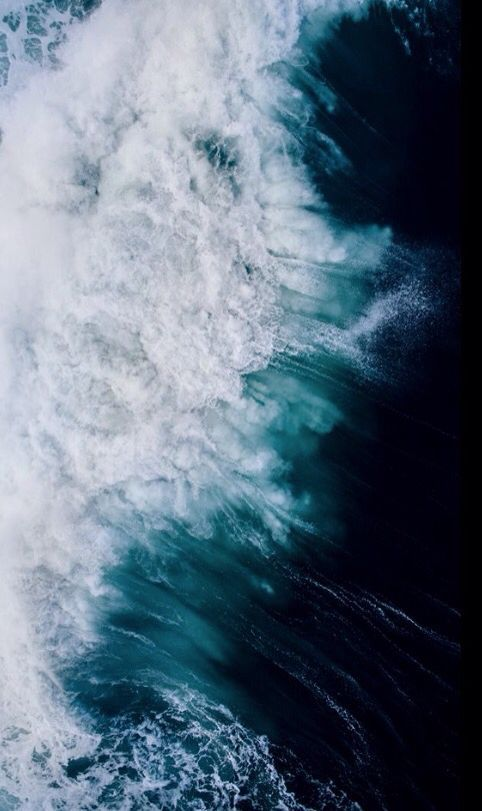 Blue And White Ocean Wave Water Texture Background In 2019