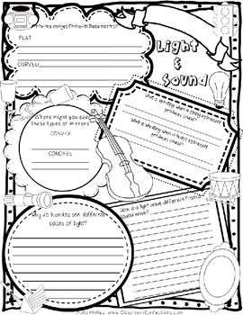 Brilliant Ideas Of Heat Light And Sound Worksheets For