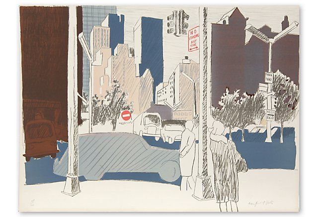 One Kings Lane - Find the Perfect Piece - Fairfield Porter, Untitled (NYC)