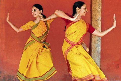 Bijayani Satpathy and Pavithra Reddy of the Nrityagram dance ensemble in Karnakata, India  Briana Blasko for The New York Times
