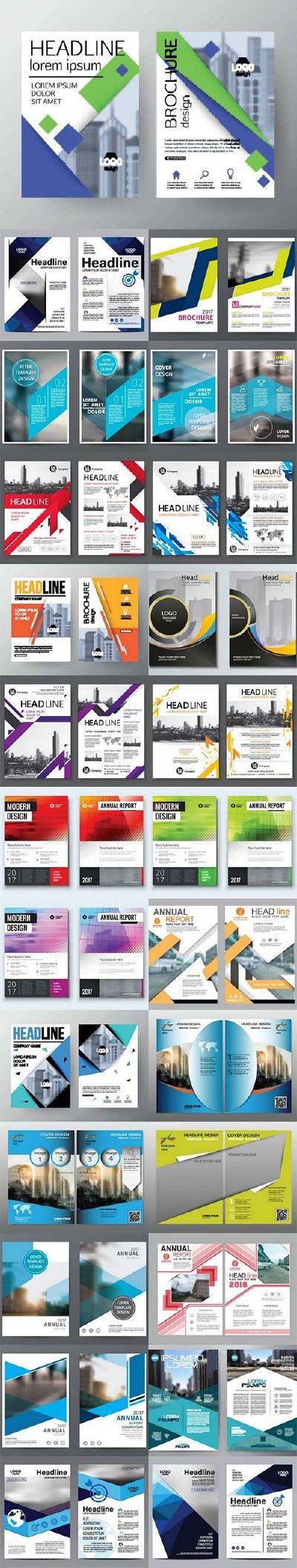 Brochure flyer template design