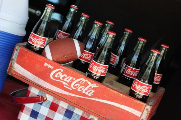 Tailgating Ideas...use my old coca cola crate