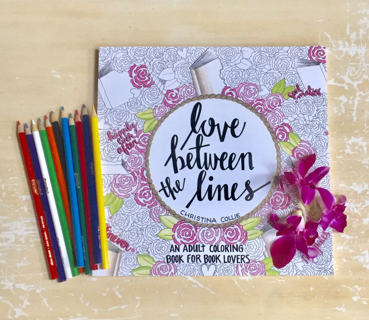 Launch Day Blitz Review For Love Between The Lines An Adult Coloring Book Lovers By Christina Collie
