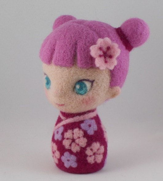 how to make needle felted dolls