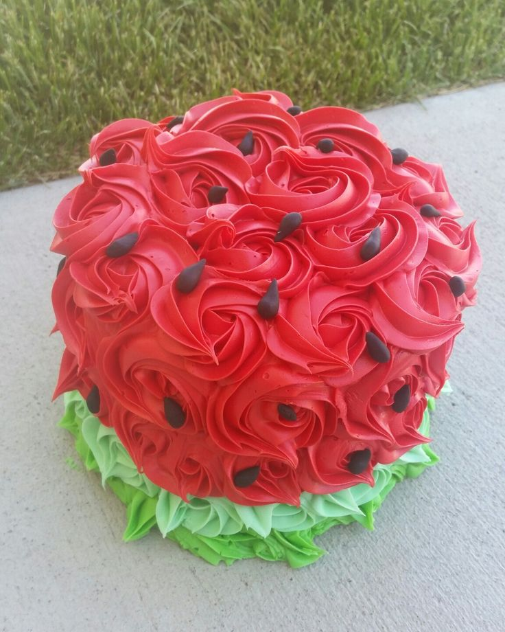 Watermelon smash cake                                                                                                                                                     More
