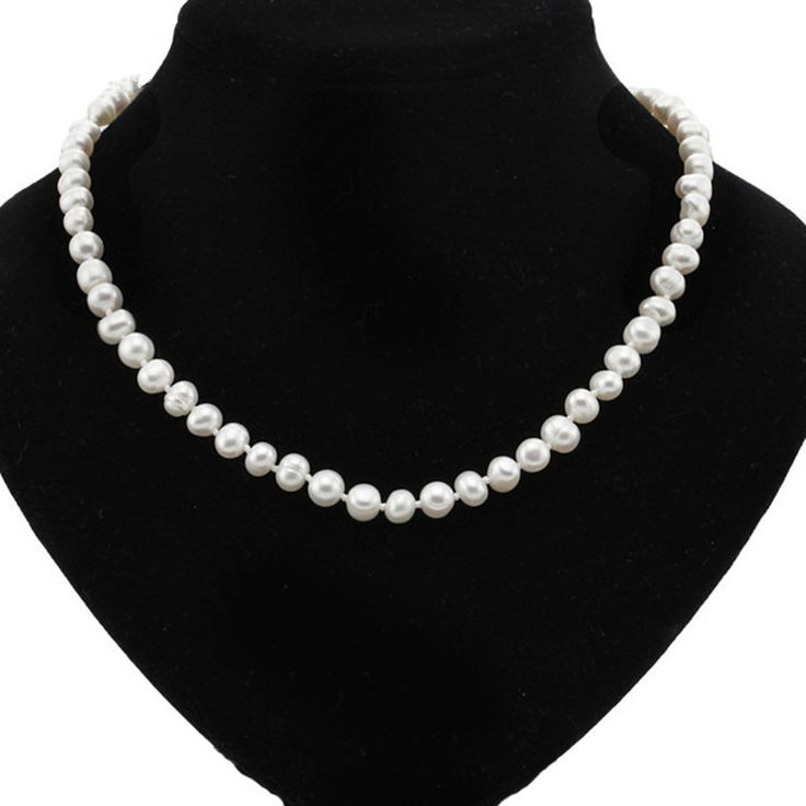 White Pearl Necklace - Free Shipping Worldwide