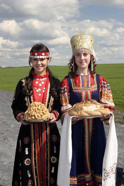 Welcome Party Michaylovka Duvanski Region Republic
