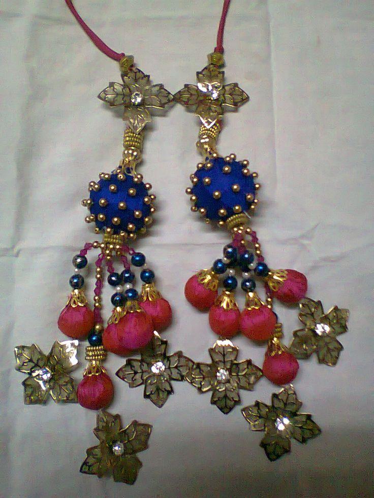 Choli Latkans #HandmadeCreations