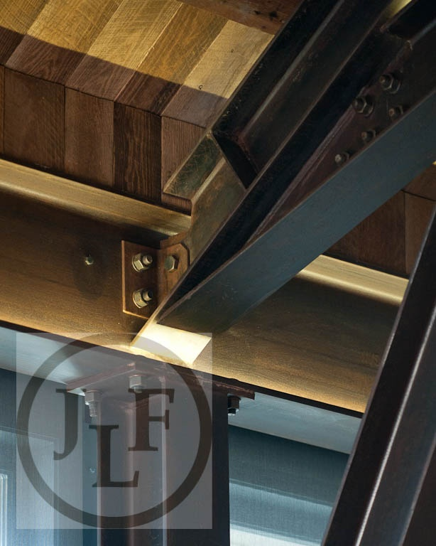 Steel And Old Wood Connection Details Designs We Like