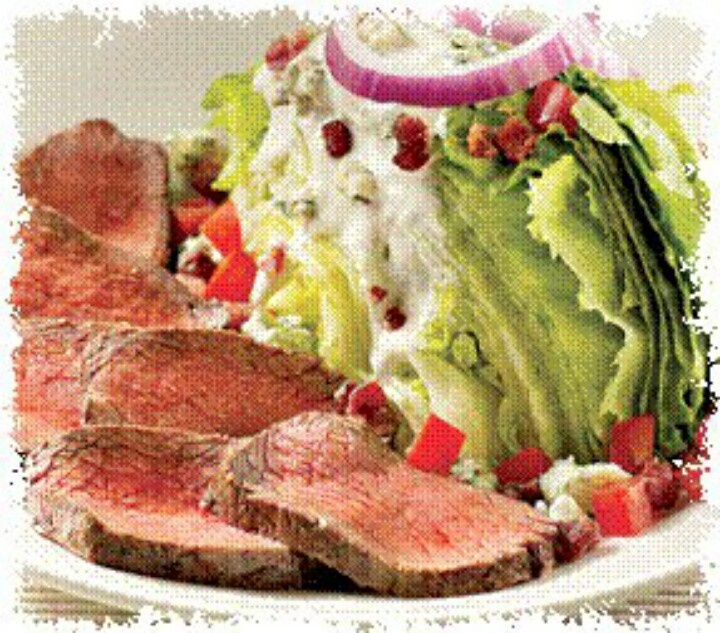 Steak wedge salad :)