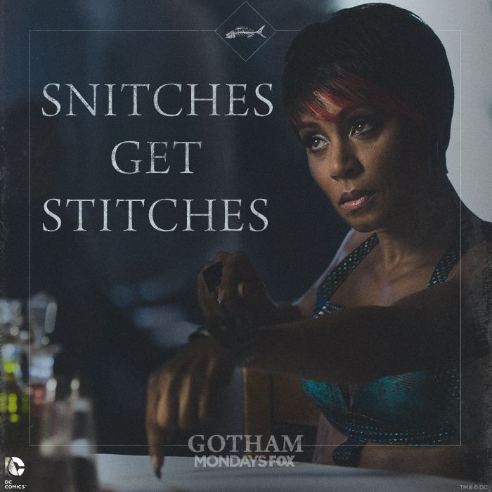 Don't mess with Fish Mooney.  Now that The Penguin has returned to Gotham, she's got her sights set on him, Falcone and all of Gotham.