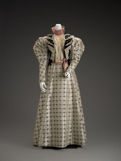 day dress circa 1894 1996 from the indianapolis museum