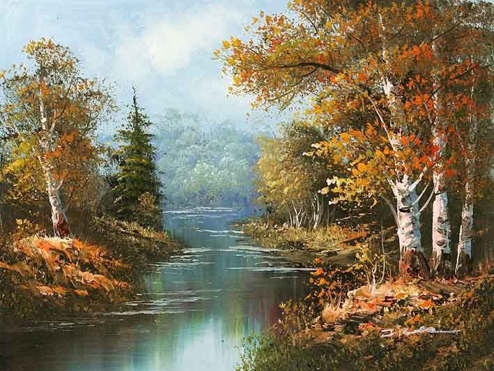 oil paintings | Oil Painting-Forest - China oil painting