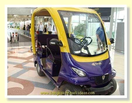 Bangkok Airport transfer car