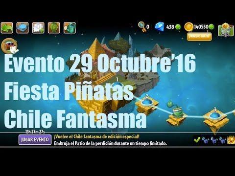 Plants vs Zombies 2 - Evento/Plantas Edición Especial - 29 Octubre'16 - ...