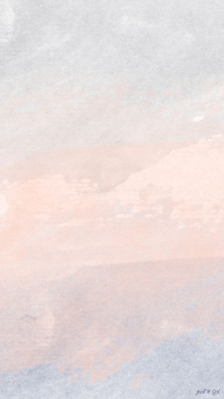Love Simple Watercolor Girl iPhone Wallpaper Home @PanPins