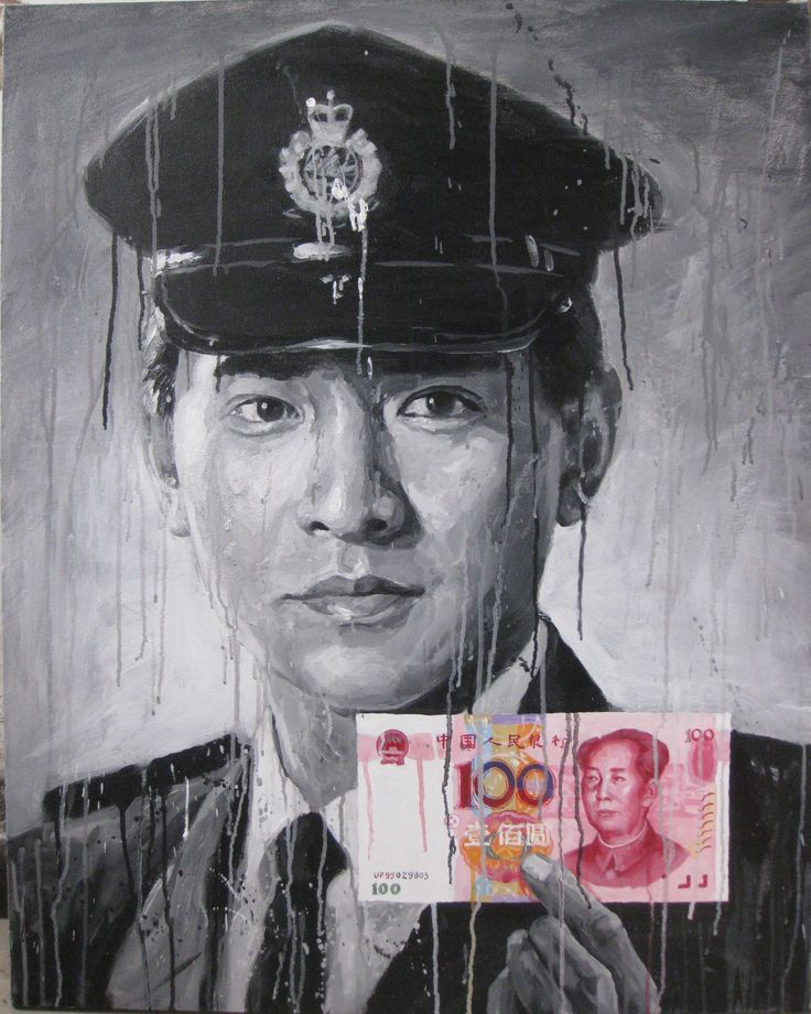 Andy Lau Tak-wah 2013  100 x 80cm Acrylic on canvas