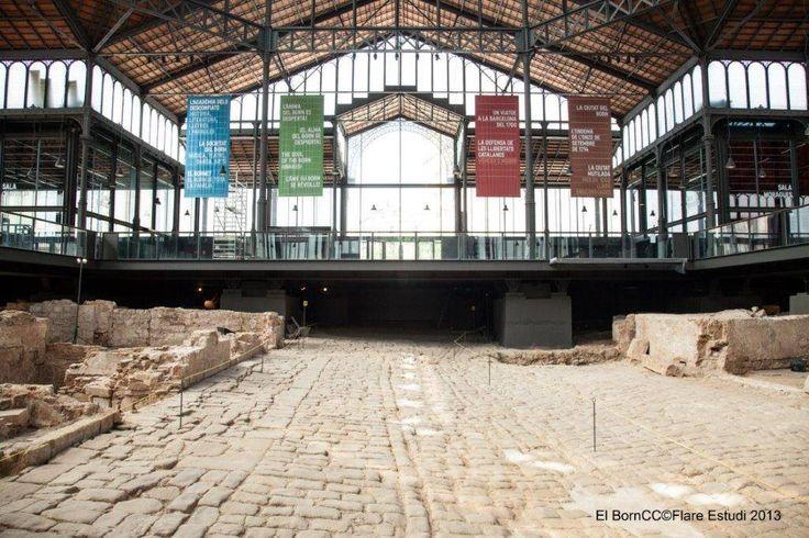 #ArqueoBorn El Bornet és el carrer principal dels que es poden trepitjar a les visites al jaciment d'El Born CCM. Connectava el pla d'en Llull (a tocar de les muralles i del portal de Sant Daniel) amb la plaça del Born i el centre de la ciutat.