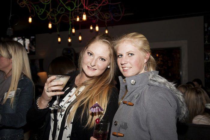 Sarah Struben and Ashleigh Brown