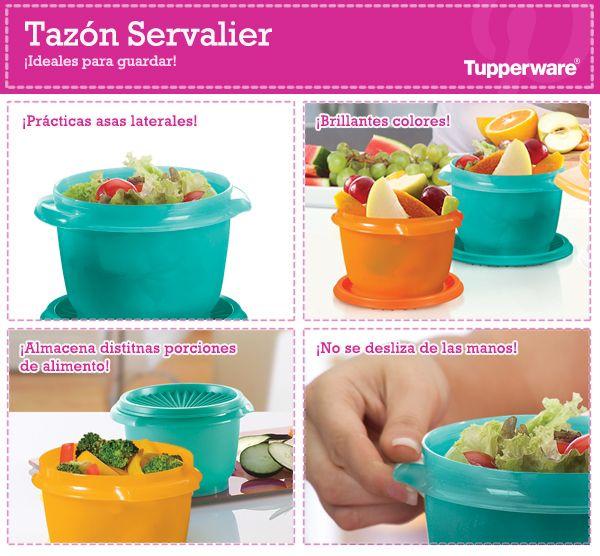 ¿Ya conoces el Tazón Servalier? ¡Es uno de los productos favoritos Tupperware!