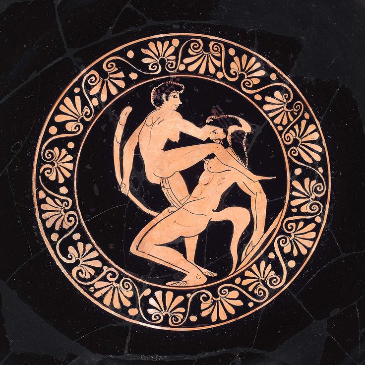Drinking cup (kylix) Greek about 500 B.C. Wider circle of the Nikosthenes Painter