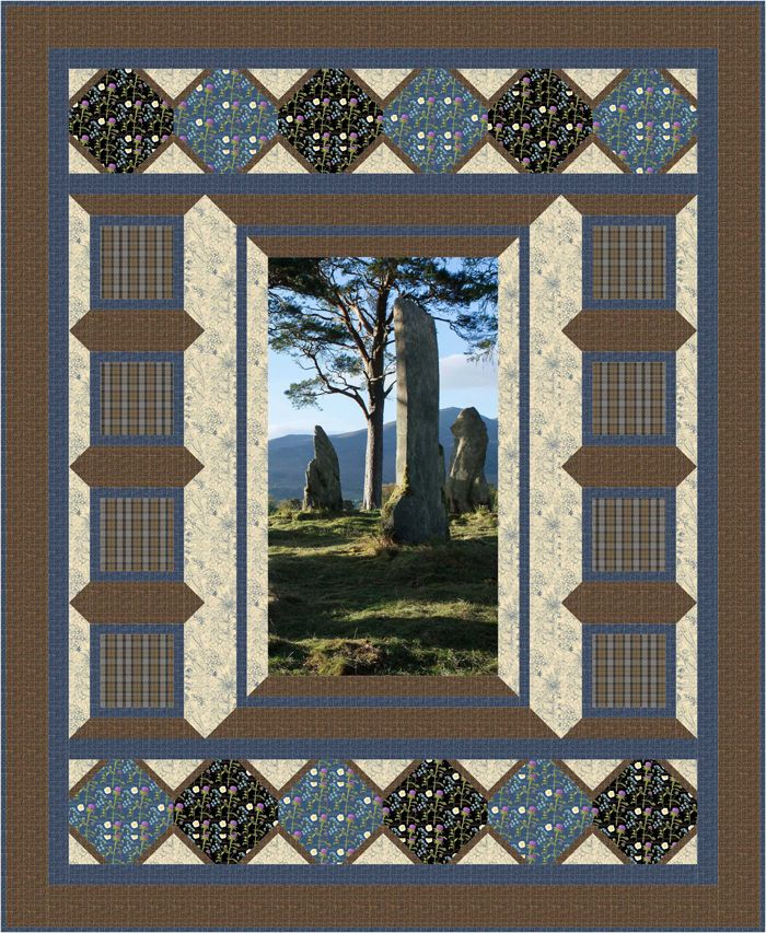 Pieced lap and throw and twin that uses a panel. Stepping Back in Time Quilt Pattern BS2-471 by Rose Cottage Quilting - Barb Sackel.  Check out more of our quilt patterns. https://www.pinterest.com/quiltwomancom/quilts/  Subscribe to our mailing list for updates on new patterns and sales! https://visitor.constantcontact.com/manage/optin?v=001nInsvTYVCuDEFMt6NnF5AZm5OdNtzij2ua4k-qgFIzX6B22GyGeBWSrTG2Of_W0RDlB-QaVpNqTrhbz9y39jbLrD2dlEPkoHf_P3E6E5nBNVQNAEUs-xVA%3D%3D