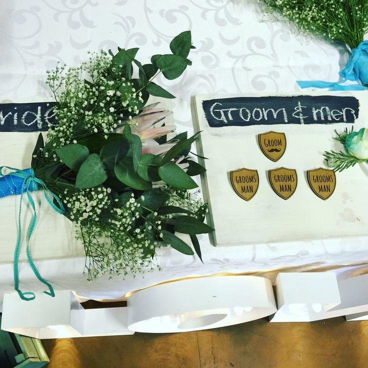 Bridal party flowers etc