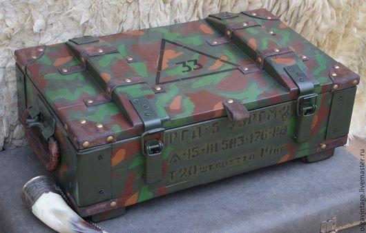 вместительный короб, эксклюзивный подарок, необычный подарок, оружейный ящик, ящик для боеприпасов, ящик охотничий, ящик для охотника,  ящик для документов, очень большой ящик, ящик для фотоальбомов, подарок мужчине, подарок охотнику, рыбаку, мужской короб, мужской ящик, короб охотничий, короб оружейный, короб для инструментов