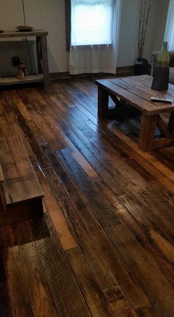 best 25 wood pallet flooring ideas on pinterest pallet walkway building a porch and pallet path. Black Bedroom Furniture Sets. Home Design Ideas