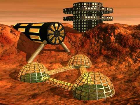 The Future Of Mars, Elon Musk, Future World, Mars, NASA, Space, Future Life, Mars colonization, sci-fi art, Future People