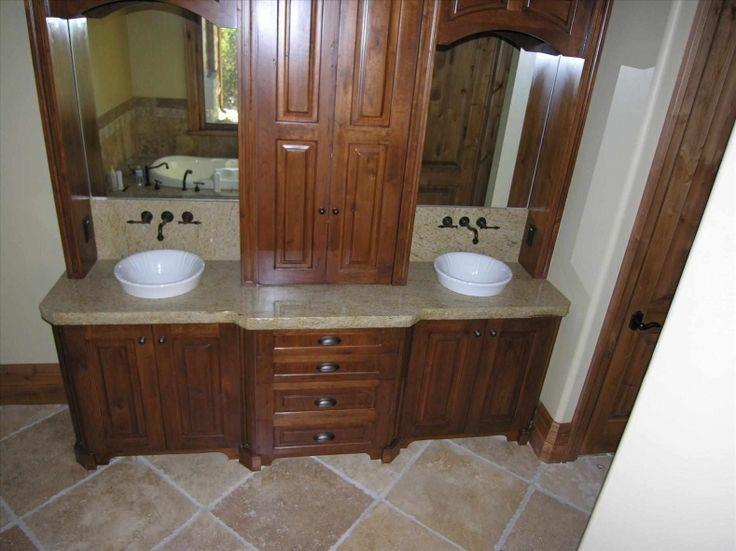 The 25 best wooden bathroom accessories ideas on pinterest concrete bathtub concrete bath for Best place to buy bathroom fixtures