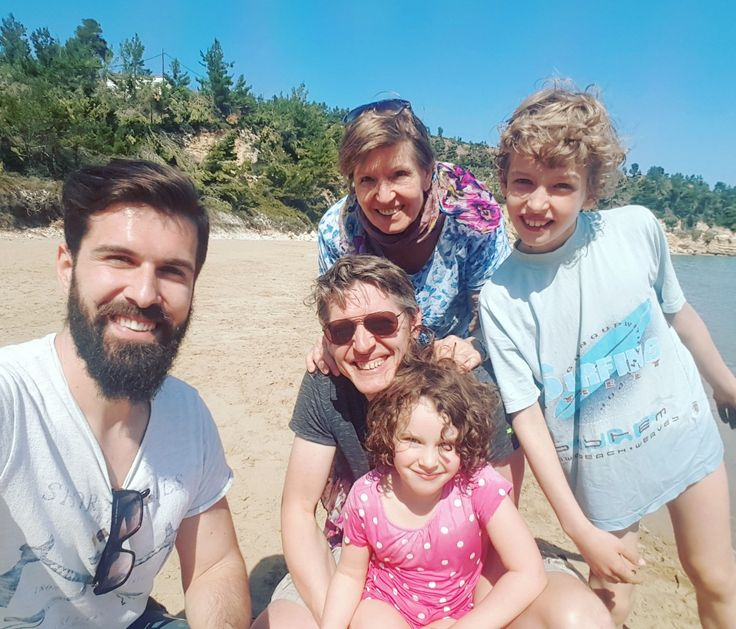 Discovering Alonissos with my first guests for 2017...my new German friends...Johannes and family!!👨👩👧👦👏 Summer season is officially started...soooo excited!!! 🌍 www.angelosalonissos.com #angelos_apartments #alonissos #sporades #greece #summer2017 #first_guests #hospitality #island_tour #amazing_people #beach #sunnyday