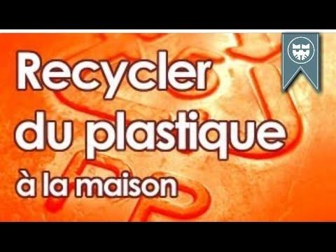 Recycler du plastique à la maison - Recyle plastic at home - YouTube