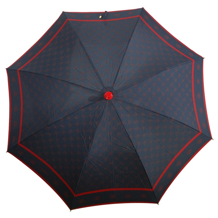 """VIntage Gucci Umbrella with Double """"G"""" Pattern"""