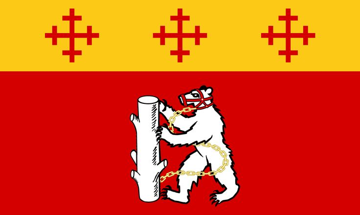 The County Flag of Warwickshire