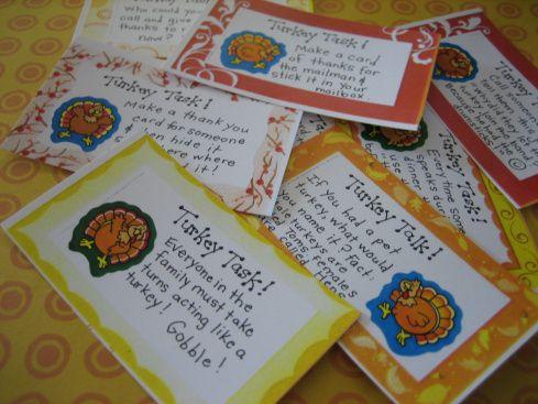 Thanksgiving Conversation Cards Free Printables